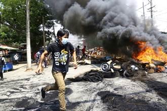 軍方血腥鎮壓釀500人慘死 緬甸示威祭垃圾大戰