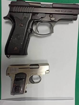 男子租車10天不歸還 警到場查獲2手槍、8子彈