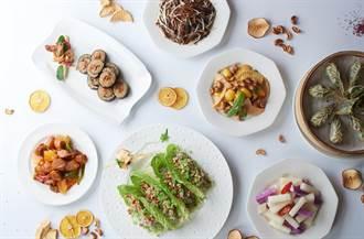 搶攻蔬食商機 台北福華「輕烹調」上桌