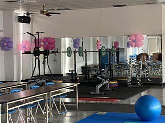 投資同仁健康 高市仁武警分局大禮堂變身「揮汗夢工場」健身房
