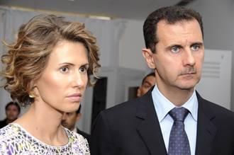 隔離期結束驗出陰性 敘利亞總統夫婦染疫康復