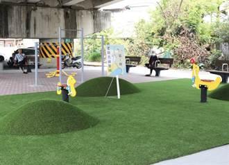 居民自己選 大林榮林陸橋下活化成老幼共融空間