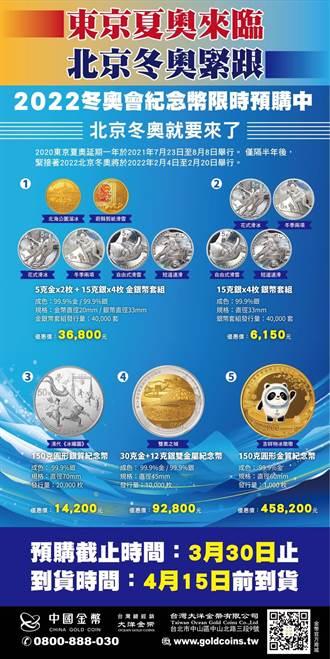 「2022北京冬奧會紀念幣」開賣 畢海:放愈久、愈保值