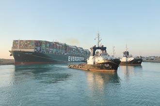 長賜輪脫困 蘇伊士運河恢復通行 長榮宣布將投入2億美元造新櫃
