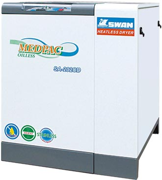 東正鐵工廠 往復式空壓設備高效