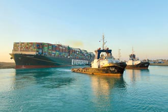 蘇伊士運河重新開通 長賜號終於脫困 擱淺6天災難落幕