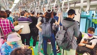 中捷單日運量破10萬 清明人潮管制