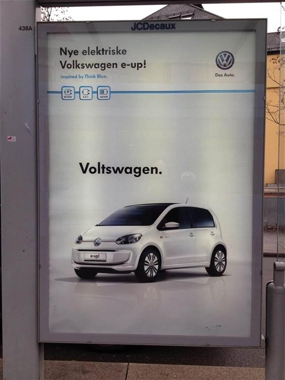 """換個名字更來電?福斯準備在美國更名為 """"Volts""""wagen 「伏斯」電動車"""
