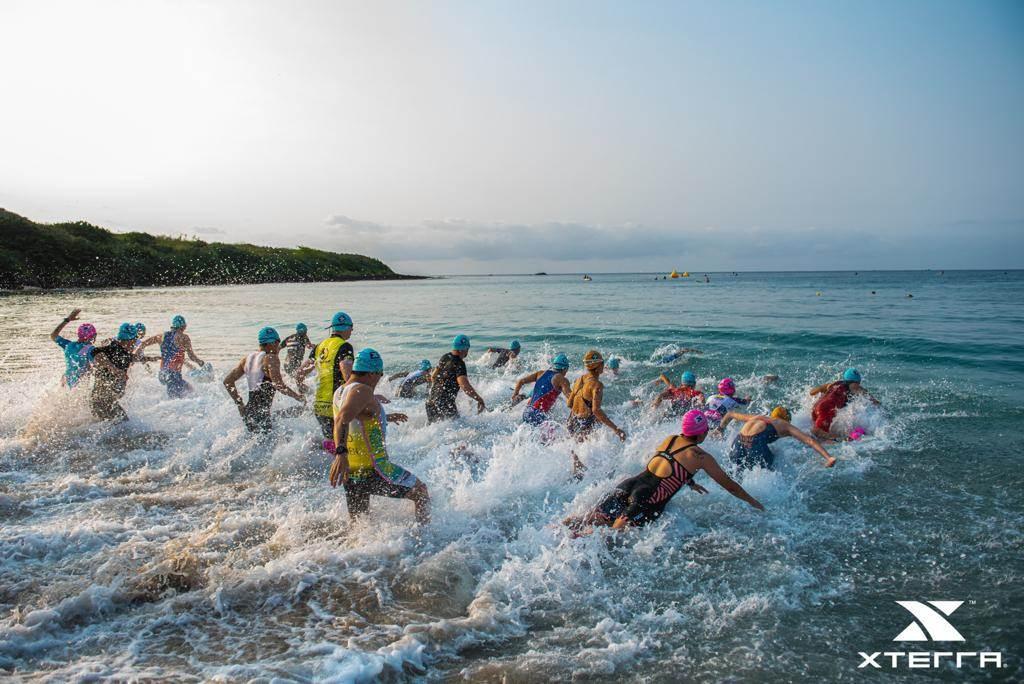 《XTERRA Taiwan 2021》全球越野三項巡迴賽事,參賽者必須展現實力挑戰1.5公里游泳、28公里登山車及11公里越野跑的極限路線。