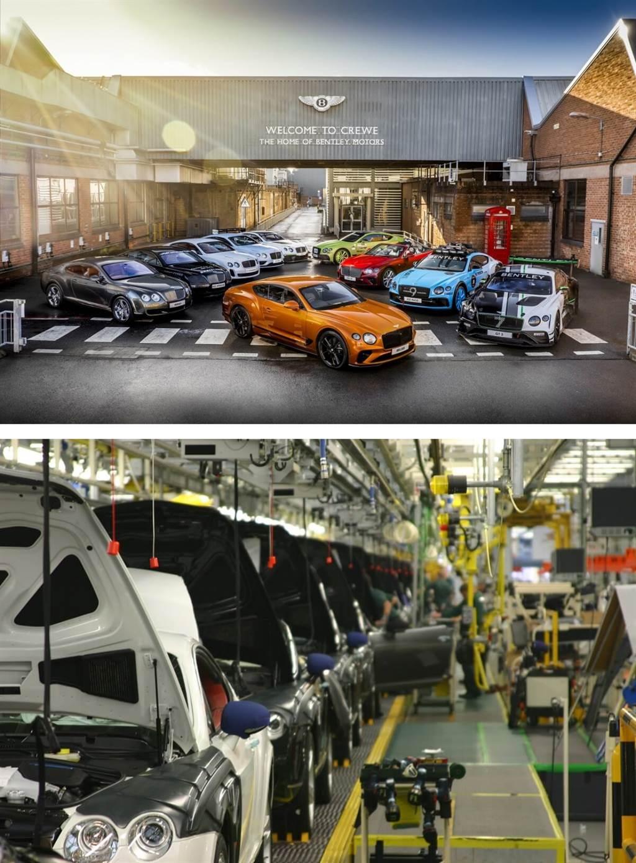 Bentley達成20萬輛生產里程碑 至今最大銷售量的車型為Continental GT