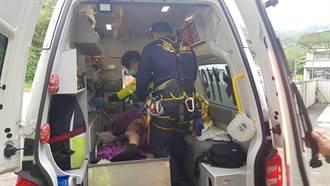 瑞芳台電員工修電塔觸電 下半身3度燙傷急送醫