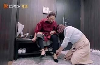 女星卑微跪地幫穿鞋 評婆婆:她到死兒子都是第一位
