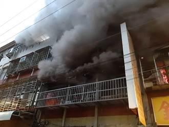 社中街公寓火警 小兒麻痺弟因濃煙嗆傷宣告死亡
