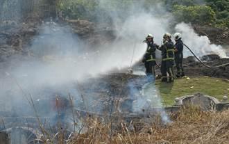 清明提早掃墓火警多 中市消防局籲不燒雜草