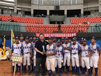 國中棒球聯賽硬式組落幕 卑南國中連續二年季軍