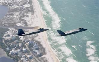 鳩佔鵲巢 美佛州F-22基地確定交給F-35使用