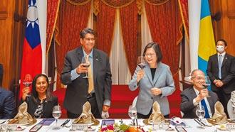 台帛總統會談 盼創更多合作佳績