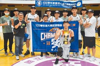 UBA男子二級賽 萬能科大奪冠