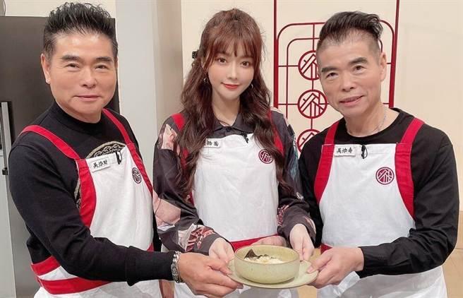 甜心藝人成語蕎 中西料理「辦桌」好廚藝 - 娛樂