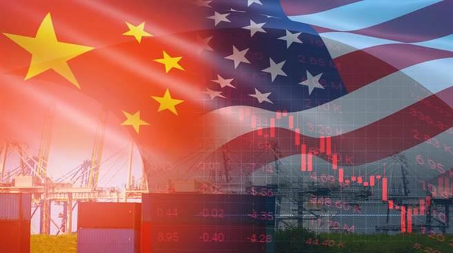 中美貿易戰持續對峙。(圖/達志影像)