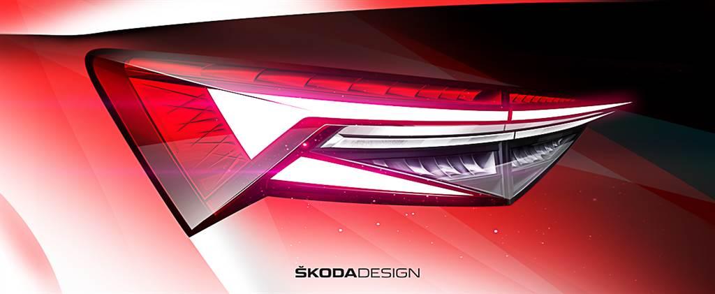 休旅主力即將迎來革新 Škoda釋出Kodiaq設計草圖
