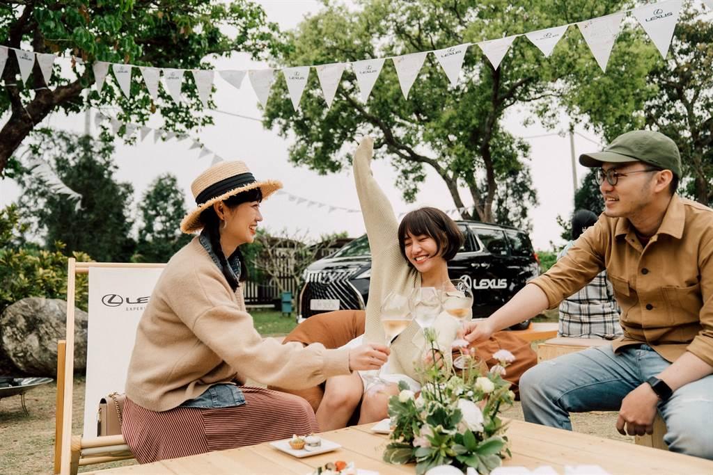LEXUS迎賓區,提供車主享受度假酒店形式的精緻服務。