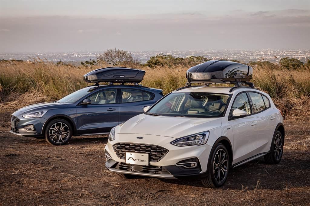 The All-New Ford Focus Active持續成為中型跨界休旅亮眼之星,「Ford等待美好專案」四月延續。