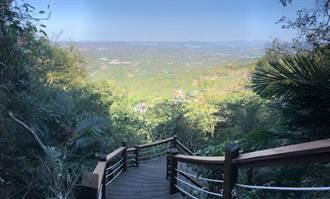南化龍湖步道視野好 登高同時遠眺嘉南平原及高雄山區
