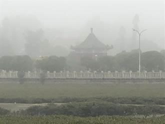 霧鎖金門 尚義機場又暫停起降