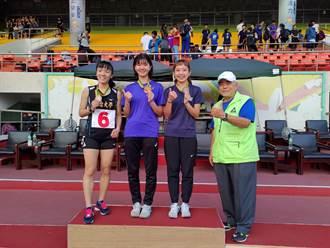 曾因受傷影響表現 華夏科大謝婕珩榮獲全國女子1萬公尺競走金牌