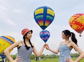 麗寶「熱氣球夢想節」繫留飛上高空 4/2正式高飛