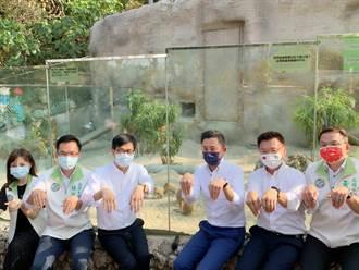 竹高雙城交流 林智堅、陳其邁訪動物園賣萌