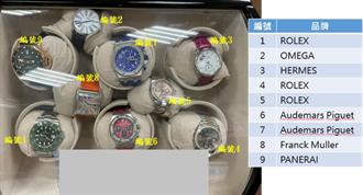 宛如精品店 調查官涉貪2000萬證物全曝光 名牌錶、包54個