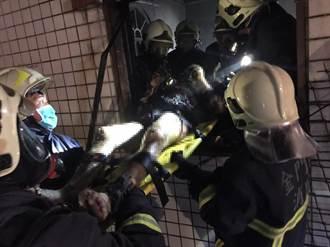 金門民宅晚間疑氣爆 現場陷火海1死1重傷