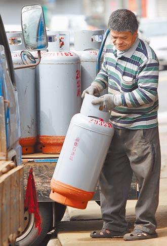 天然氣漲近6% 桶裝瓦斯不降價