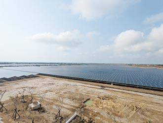 台南年發電2億度 最大太陽能電廠上陣