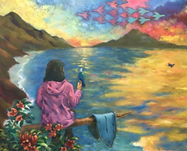 和春天的光影來場約會 「雨田一二樓」油畫展拉近溫暖的距離 - 寶島