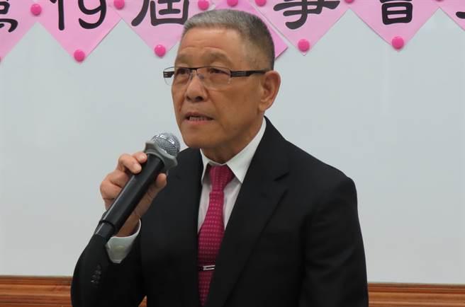 彰化縣農會1日進行第19屆農會理、監事長選舉,蕭景田當選理事長,期許以企業化經營,將農會帶向更新的榮景。(吳敏菁攝)