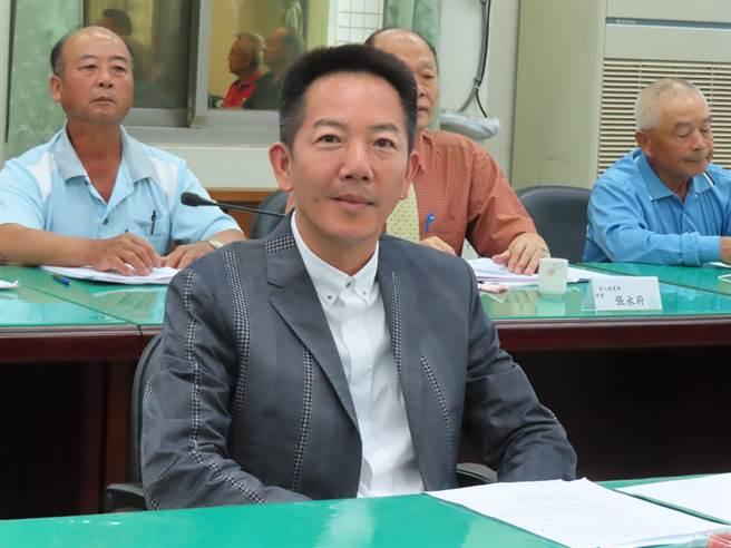 彰化縣農會1日進行第19屆農會理、監事長選舉,議員張瀚天當選常務監事。(吳敏菁攝)