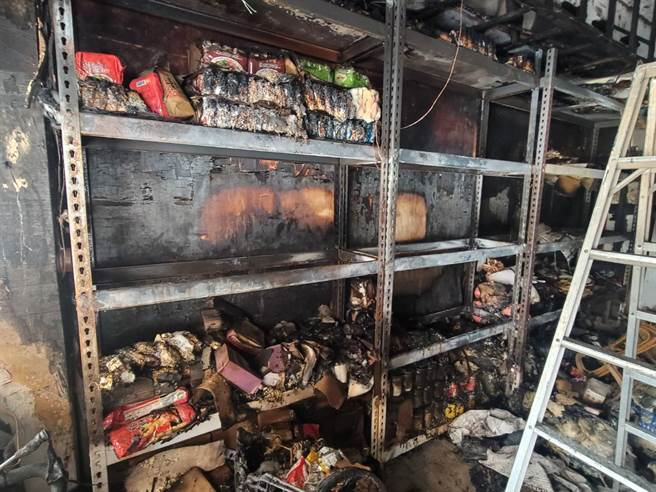 獨/萬華平安站惡火物資全燒毀 佛心老闆娘豪捐整月便當 - 生活