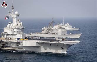 陸媒指印藉法艦參加五國軍演炒作 劍指中國刷存在感