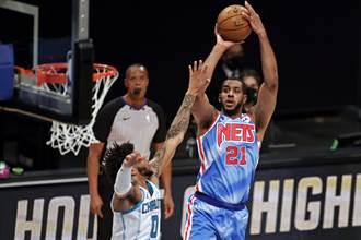 NBA》艾卓吉首披籃網戰袍就先發 狂宰黃蜂不留情