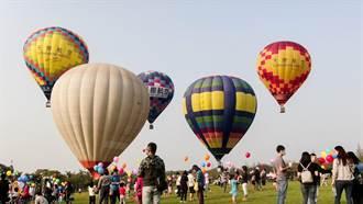 中部最大熱氣球夢想節登場 狂吸600人高飛60公尺