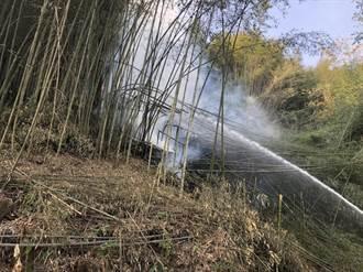 嘉義達邦公路旁竹林又起火 民眾:希望燒的人關到死