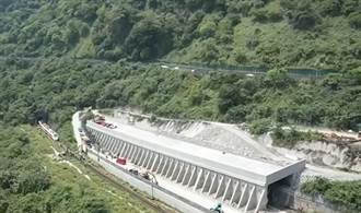 【太魯閣出軌】台9線仁水隧道北上車道封閉 供傷患檢傷平台
