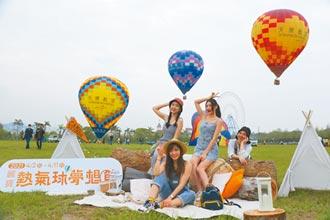 繫留升空10天 麗寶熱氣球今起飛