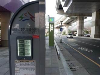 台中捷運轉乘環境升級 交通局增設智慧型站牌及候車亭