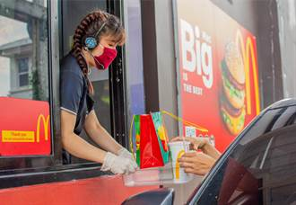 麥當勞點餐被按喇叭狂催 男大方幫買單 神反轉網讚天才