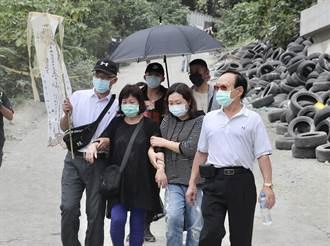 太魯閣事故罹難者家屬招魂 哭喊「回來了」