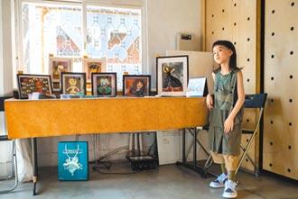 8歲街頭畫家 大港自造特區辦展